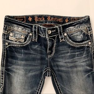 Bling Rock Revival Jeans